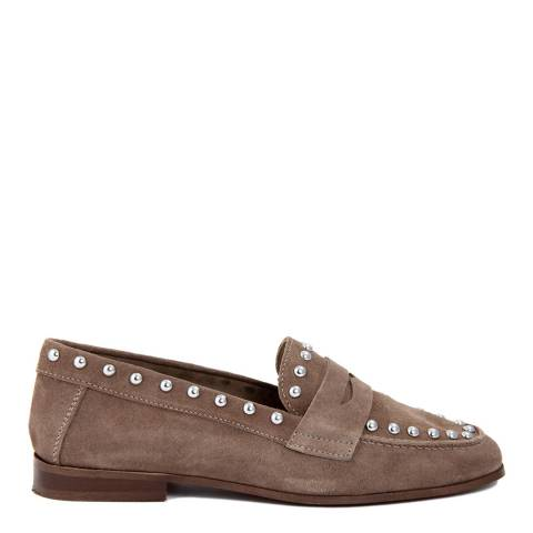 Gusto Taupe Crosta Suede Loafer