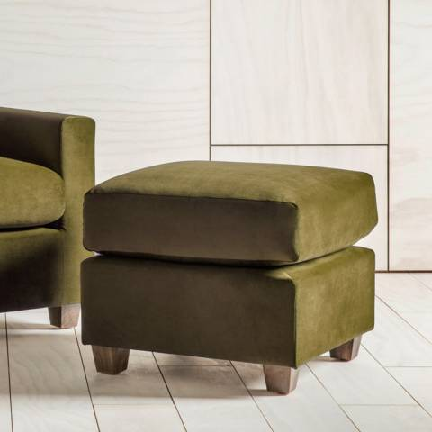 Gallery Stratford Footstool in Brussels Olive