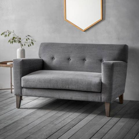 Gallery Shoreditch 2 Seater Sofa in Ranch Graphite
