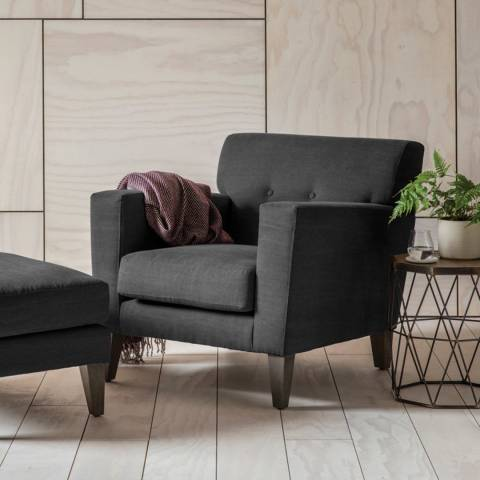 Gallery Shoreditch Armchair in Ranch Graphite