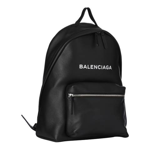 Balenciaga Black Everyday Leather Backpack