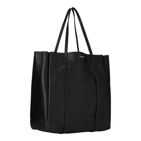 Balenciaga Black Balenciaga Medium Leather Tote bag