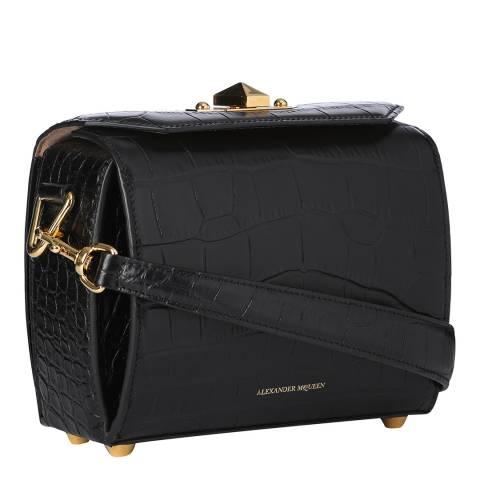 Alexander McQueen Black Box Bag 19 Leather Shoulder Bag