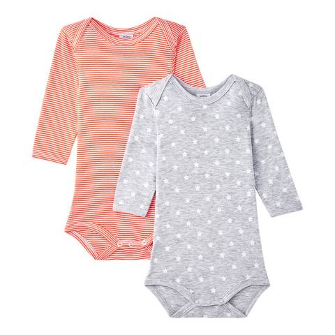 Petit Bateau Baby Multi 2-Pack Bodysuits