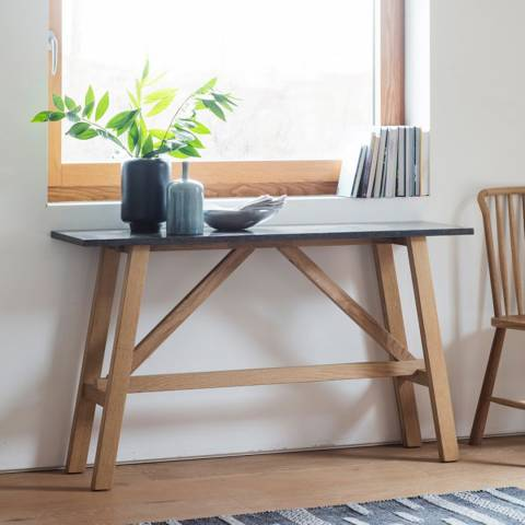 Gallery Brixton Burnished Console Table