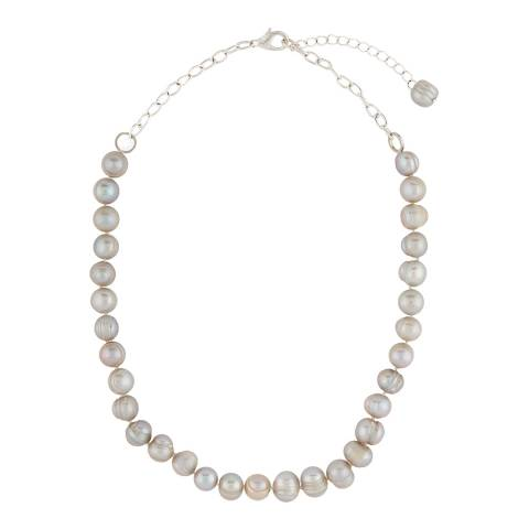 Jaeger Cream Freshwater Pearl Short Necklace