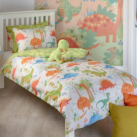 Paoletti Dinosaur Toddler Duvet Cover Set