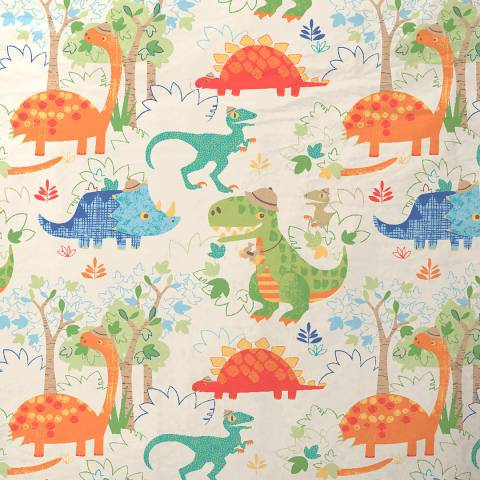 Paoletti Dinosaur Double Duvet Cover Set