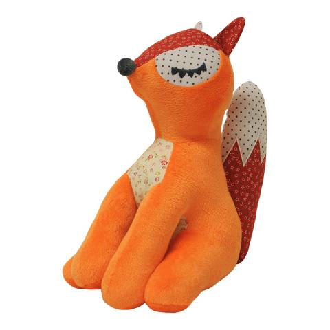 Paoletti Fox Plush Toy, Brown