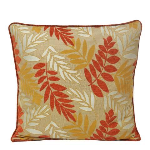Paoletti Copper Fern Feather Cushion 45x45cm