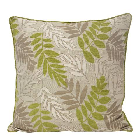 Paoletti Green Fern Feather Cushion 45x45cm