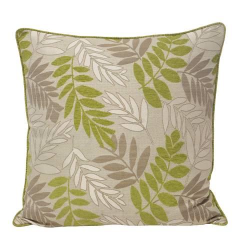 Paoletti Green Fern Feather Cushion 55x55cm