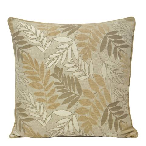 Paoletti Natural Fern Feather Cushion 55x55cm