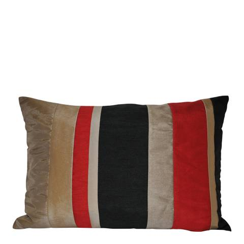 Paoletti Black Kyoto Feather Cushion 35x50cm