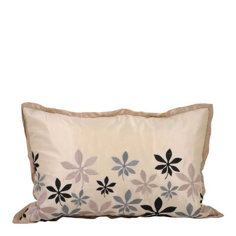 Paoletti Blue Oasis Feather Cushion 40x60cm