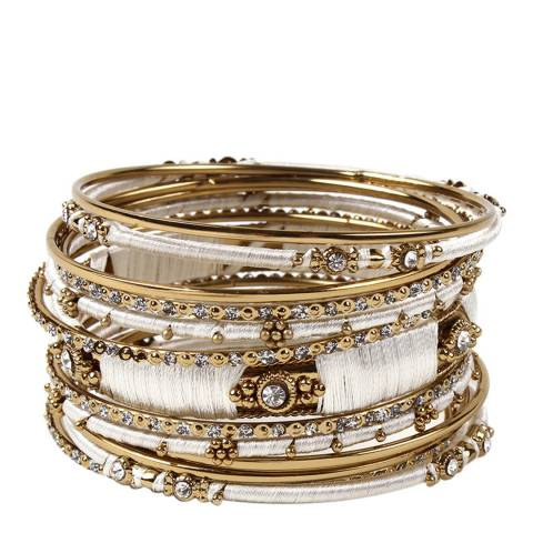 Amrita Singh Ivory Bangle Set