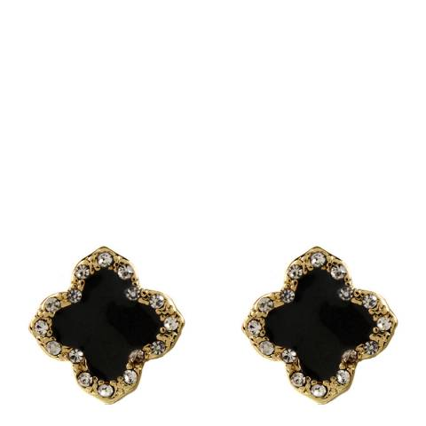 Amrita Singh Black Clover Stud Earrings