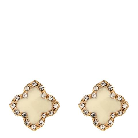 Amrita Singh Ivory Clover Stud Earrings