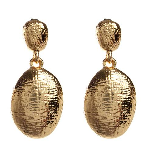 Amrita Singh Gold Drop Earrings