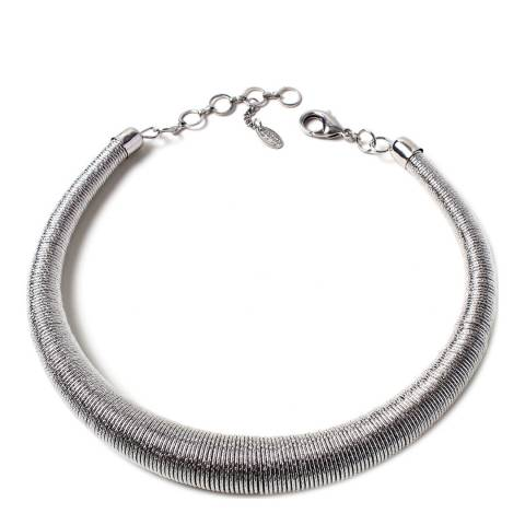 Amrita Singh Silver Collar Necklace