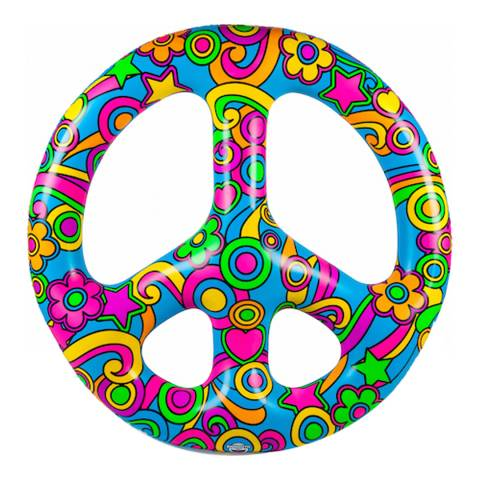 BigMouth Peace Sign Pool Float