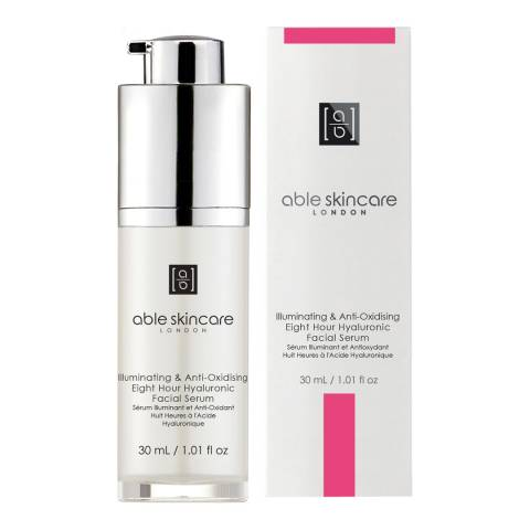 Able Skincare Illuminating and Anti-Oxidising Eight Hour Hyaluronic Facial Serum