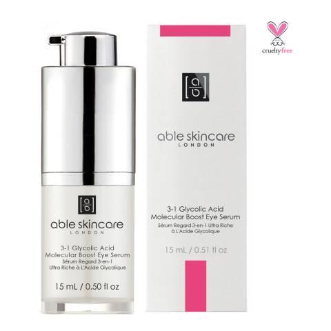 Able Skincare 3-1 Glycolic Acid Molecular Boost Eye Serum