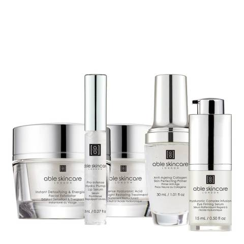 Able Skincare 5 Piece Perfecting Series Collection Discovery Set