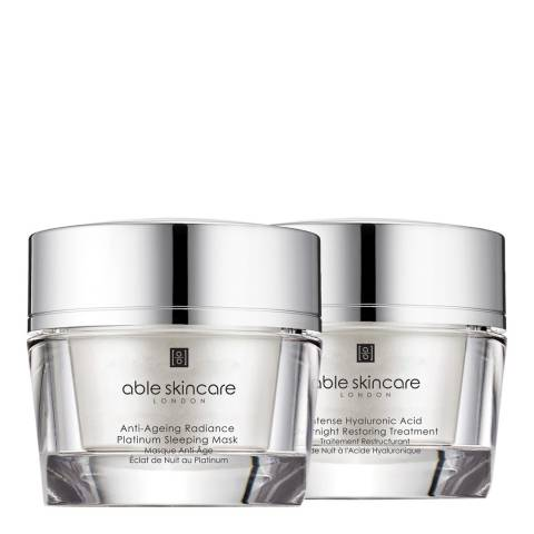 Able Skincare Set of 2 Night Intensive Regime Masks