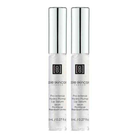 Able Skincare Set of 2 Double Lip Plump Serums