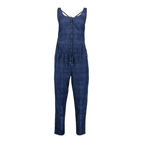 O'Neill Blue All Over Print Jumpsuit