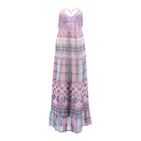 O'Neill Pink/Multi Cloud Burst Dress