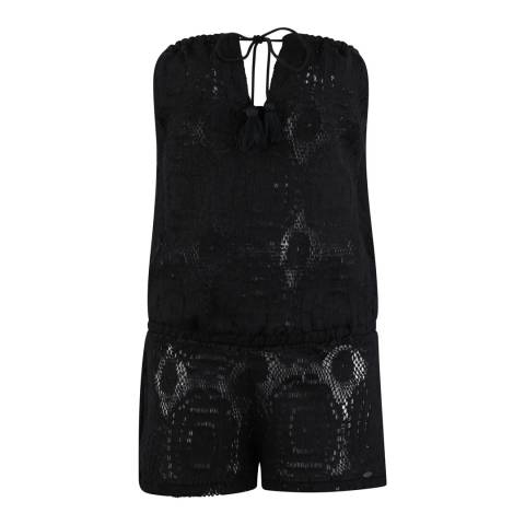 O'Neill Black Jaden Cover Up Jumpsuit