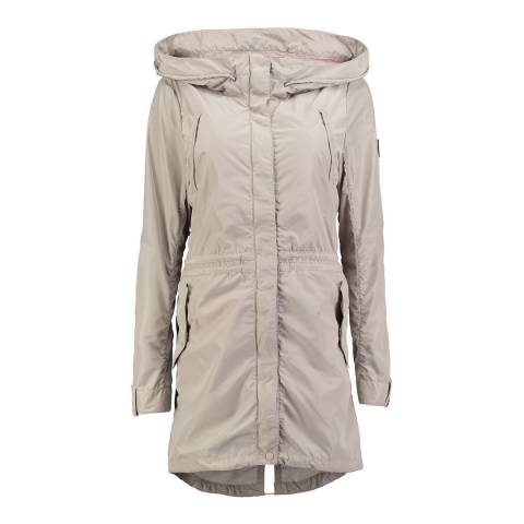 O'Neill Beige Hooded Boundary Parka
