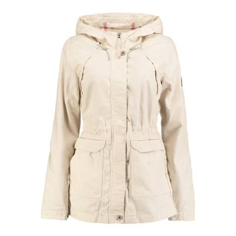 O'Neill Beige Hooded Comfort Jacket