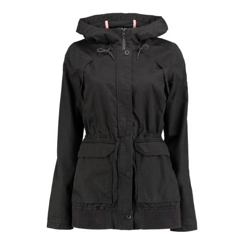 O'Neill Black Hooded Comfort Jacket