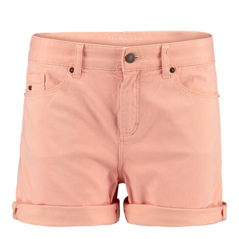 O'Neill Peach Cotton Five Pocket Shorts