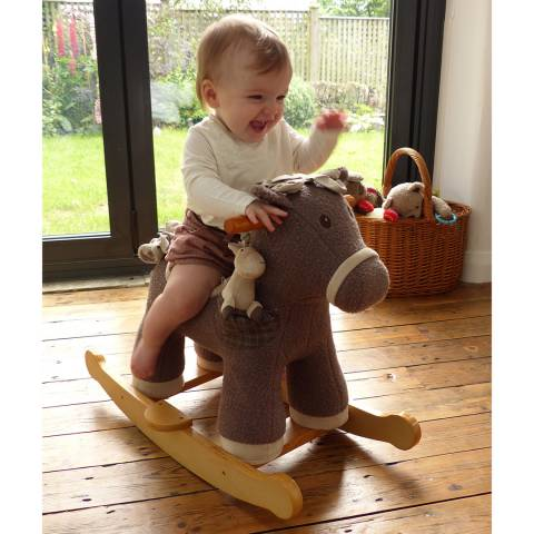 Little Bird Told Me Bobble & Pip Rocking Horse