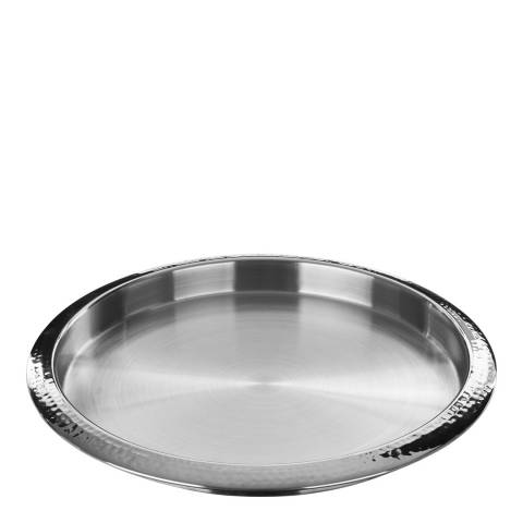 Premier Housewares Hammered Effect Stainless Steel Tray