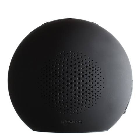 Boompods Black Bluetooth Portable Speaker - Shhhhh Mode
