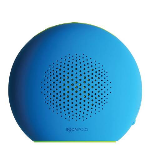 Boompods Blue/Green Bluetooth Portable Speaker - Shhhhh Mode