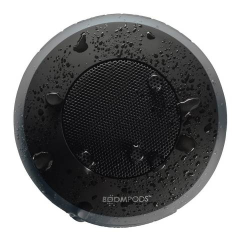 Boompods Grey Aquapod Bluetooth Waterproof Portable Speaker