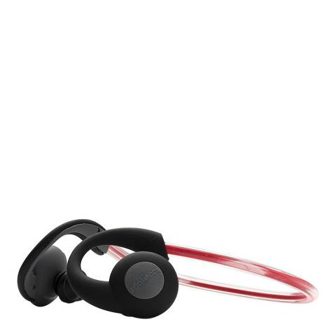 Boompods Red Sportpods Vision Bluetooth Earphones