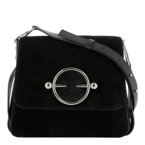 JW Anderson Black Disc Bag