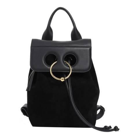 JW Anderson Black Mini Pierce Backpack