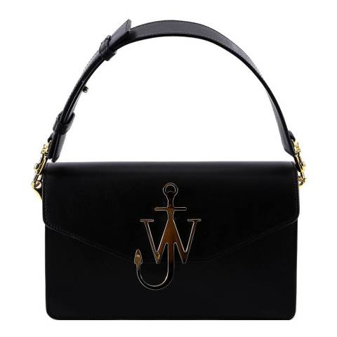JW Anderson Black Anchor Logo Shoulder Bag