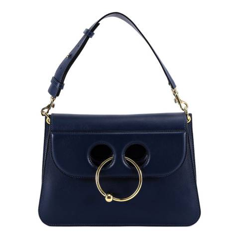JW Anderson Navy Pierce Shoulder Bag