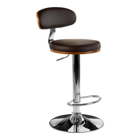 Premier Housewares Bar Chair, Brown