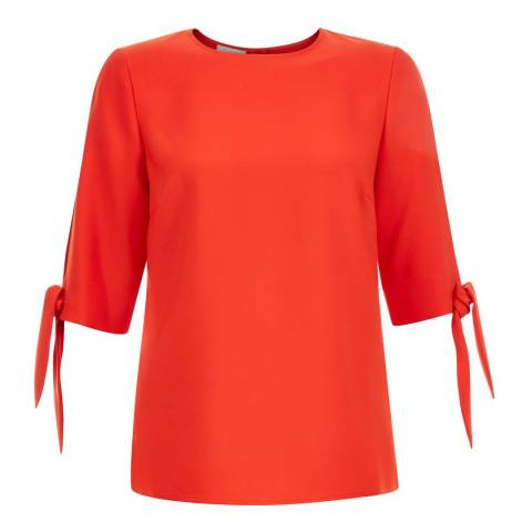 Hobbs London Flame Orange Savannah Top