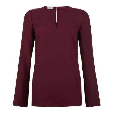 Hobbs London Mulberry Primrose Blouse